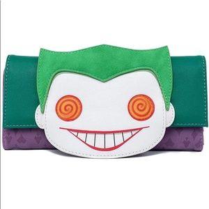 NWT Loungefly joker wallet